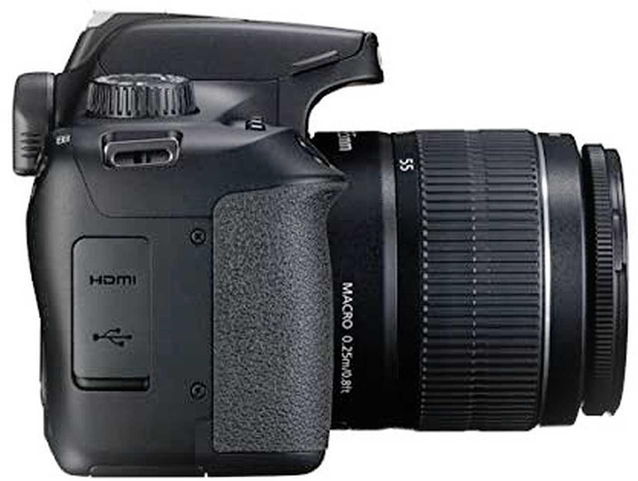 Canon EOS-4000D hdmi connection