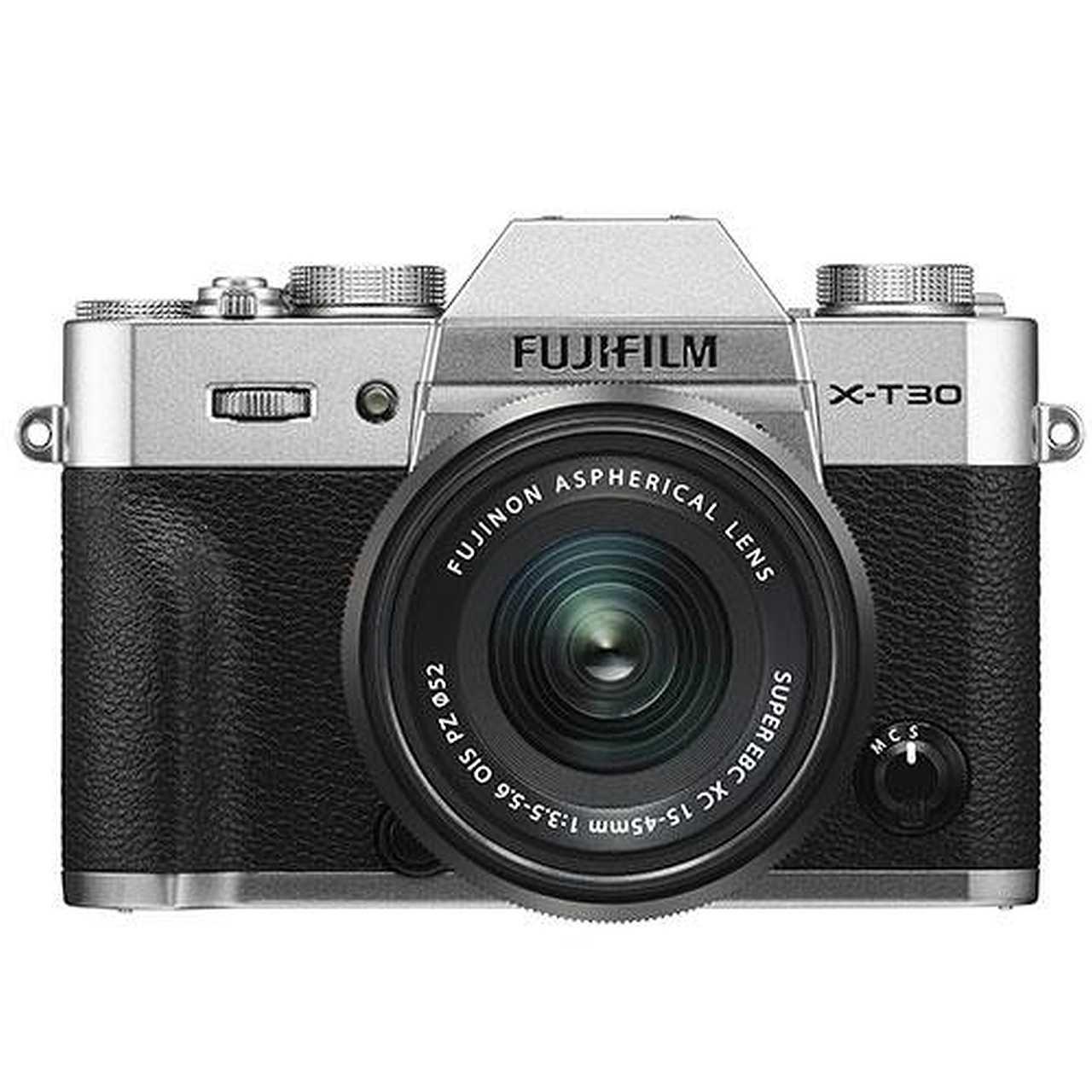 Fujifilm X-T30 front view
