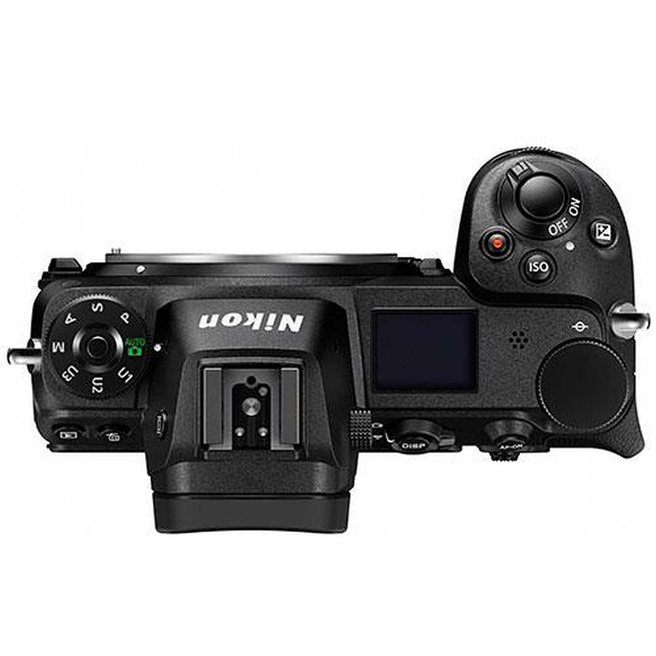 Nikon Z6 top