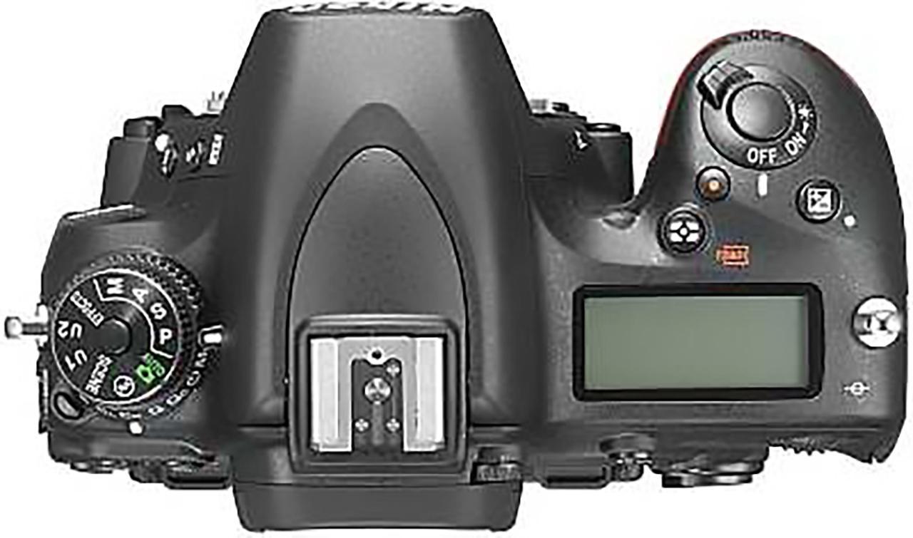 Nikon D750 DSLR camera top