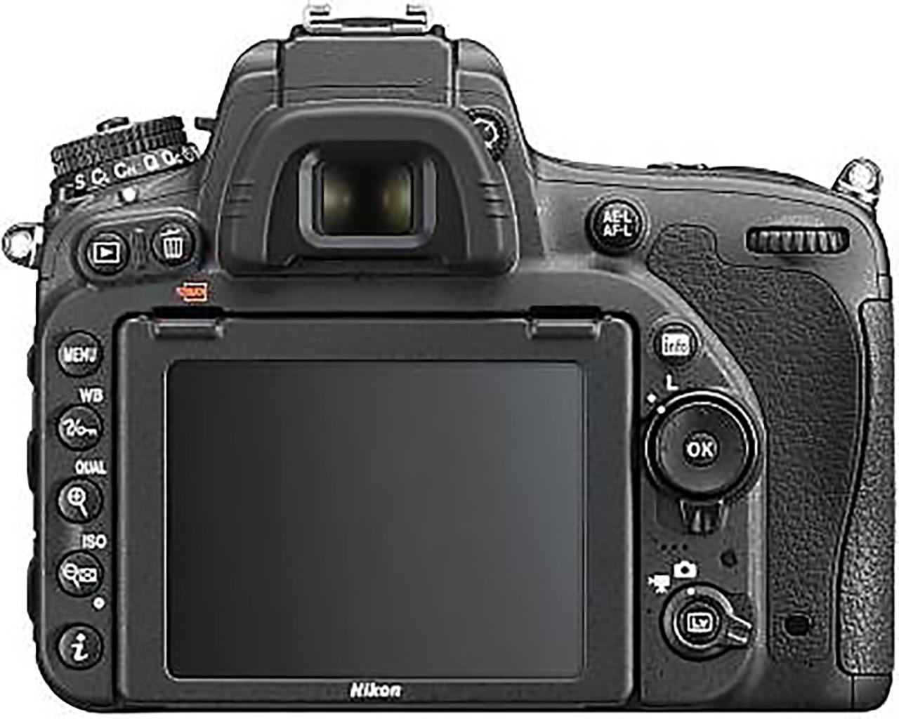 Nikon D750 display