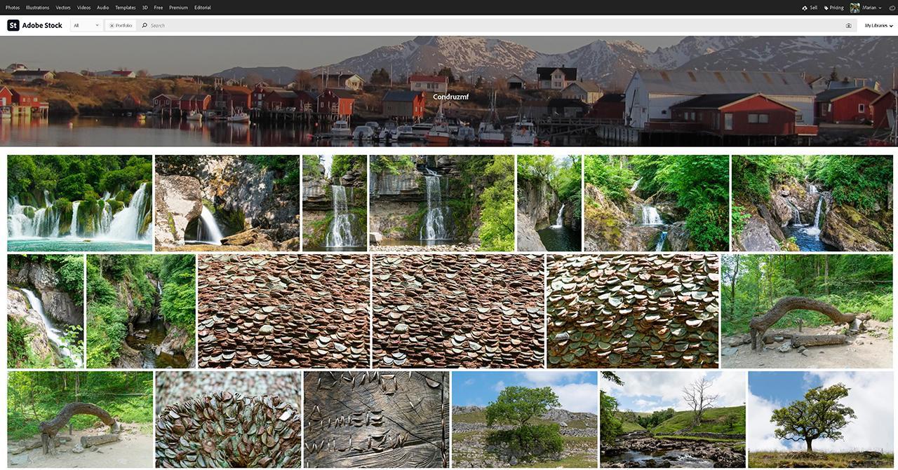 My Adobe Stock Portfolio