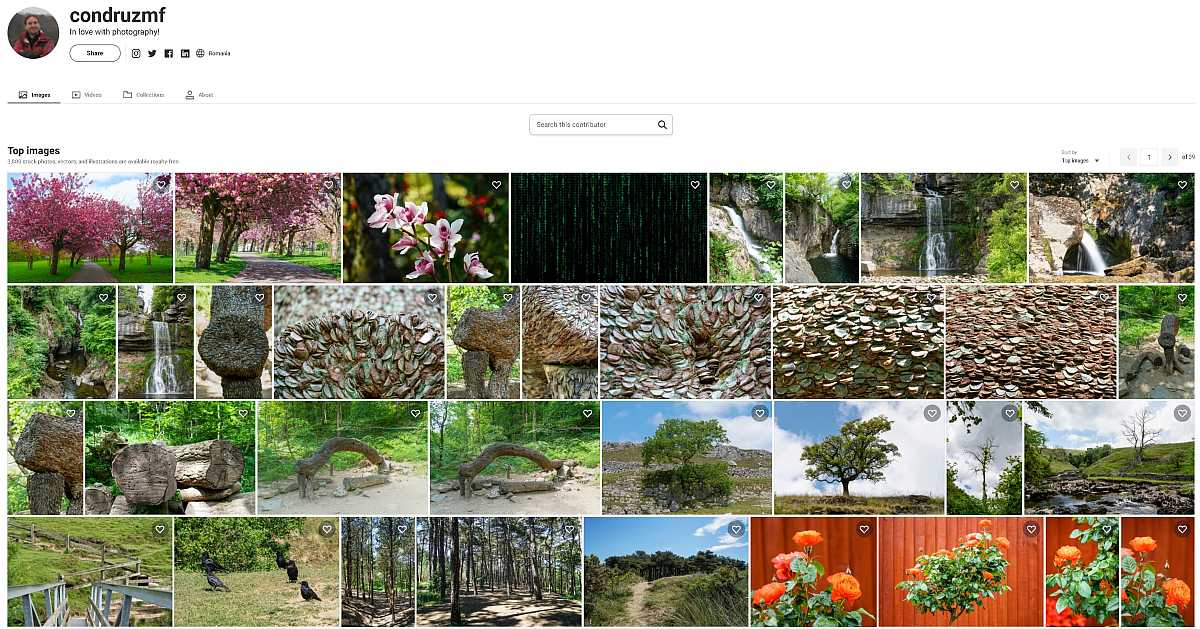My portfolio at Shutterstock