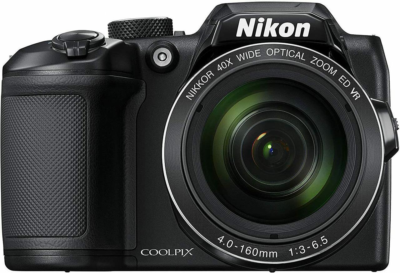 Nikon B500 camera front view