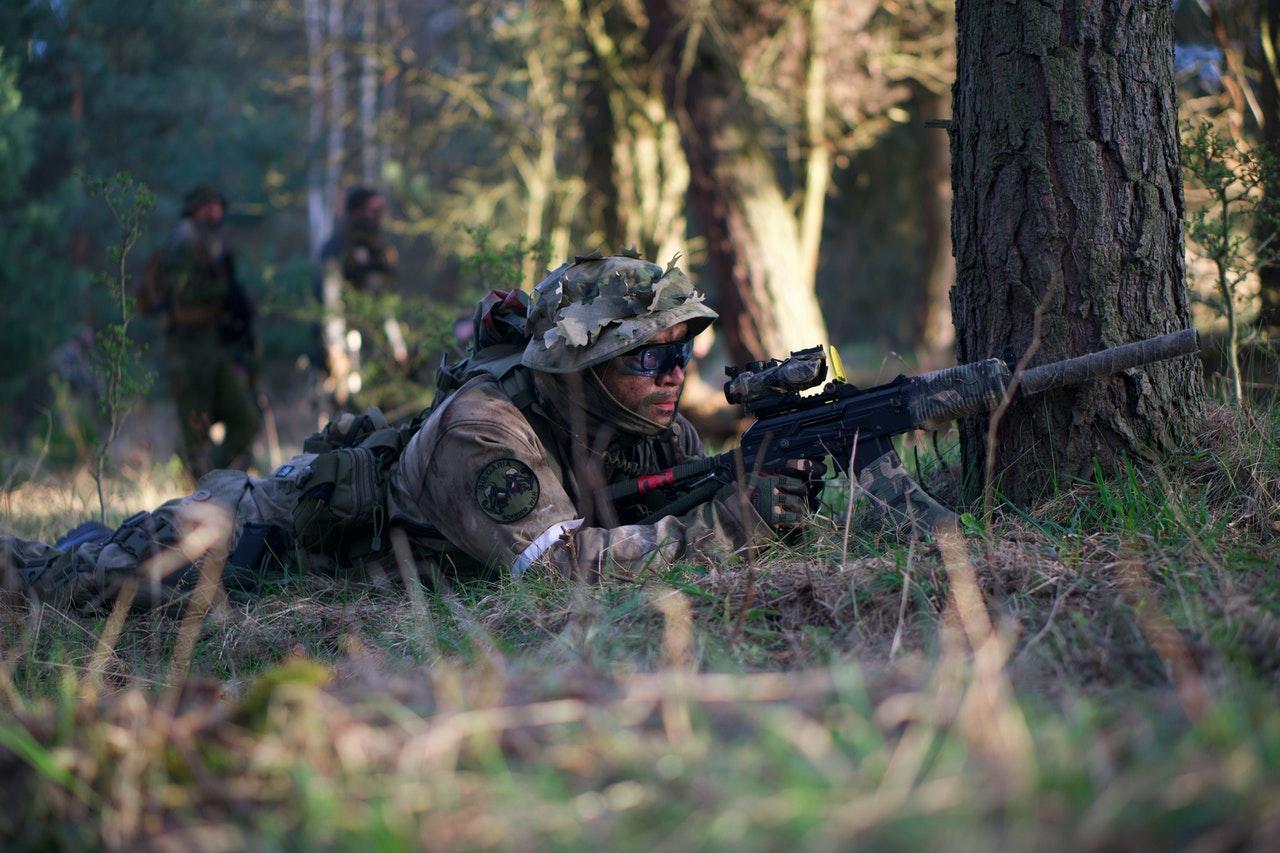 Soldier hunting next victim
