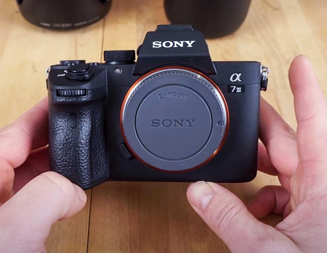 Sony A7 III built