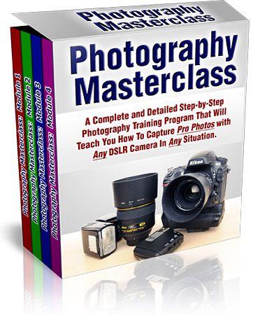 photography masterclass course