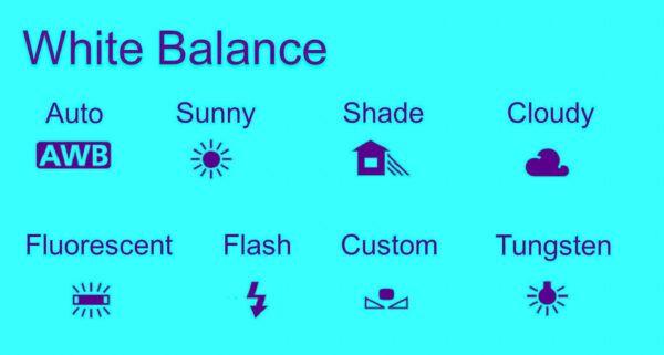 the white balance