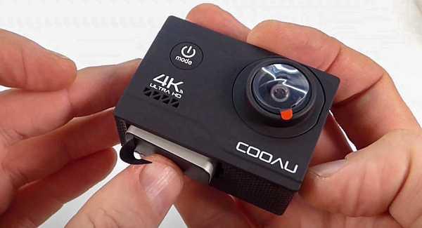 Cooau 4k battery