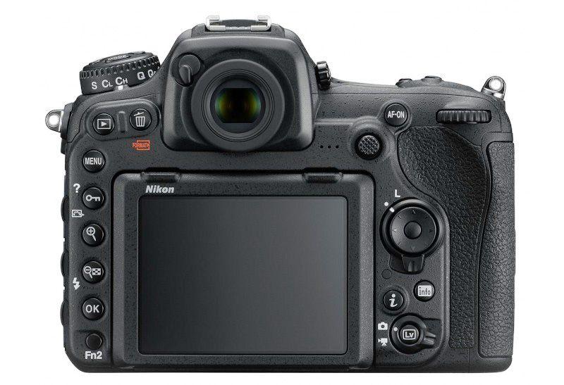 Nikon D500 screen side view
