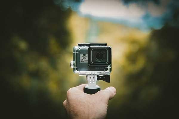 Handheld action camera
