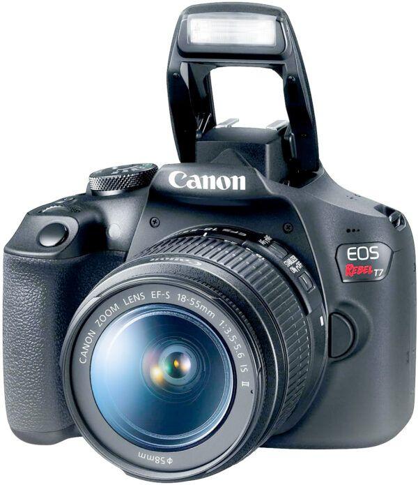 Canon T7 Rebel flash