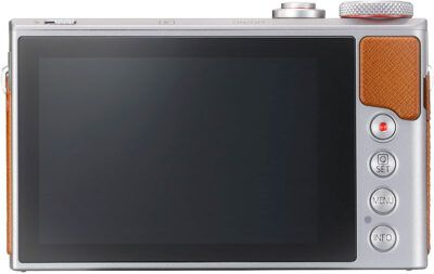 Cannon PowerShot G9 X Mark II screen