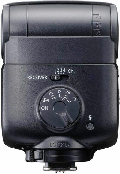 Speedlite EL-100 settings buttons