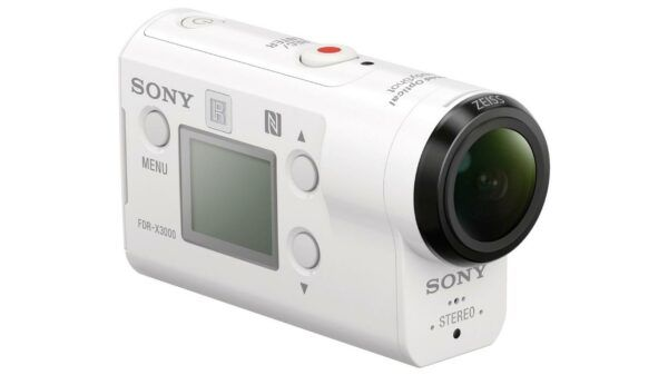 SONY FDR-X3000 4K action camera view