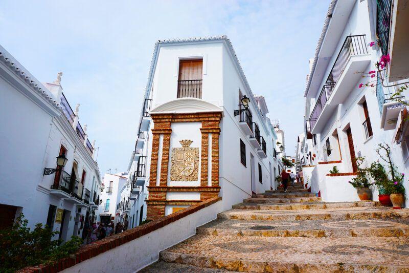Frigiliana street view