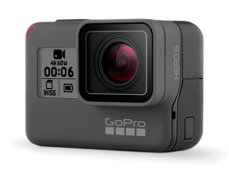 GoPro Hero6 front view