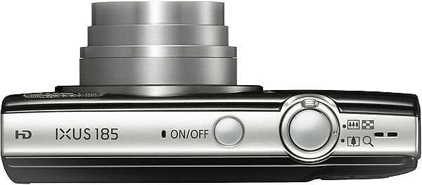Canon IXUS 185 top view