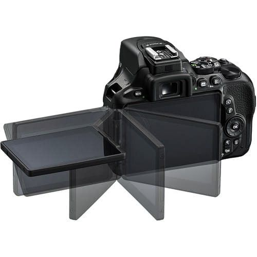 Nikon D5600 display mobility