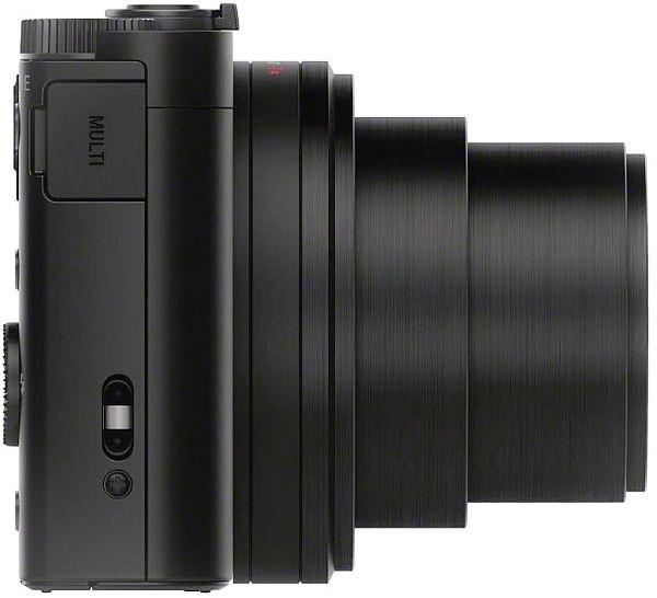 Sony WX500 zoom