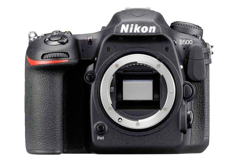 Nikon D500 sensor view