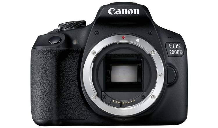 Canon EOS 2000D front view