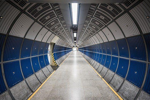 modern tunnel indoor photo