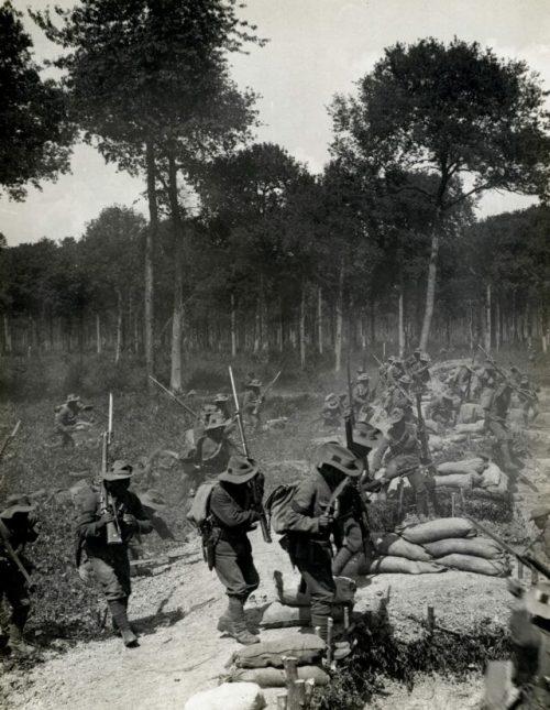 soldiers in world war one