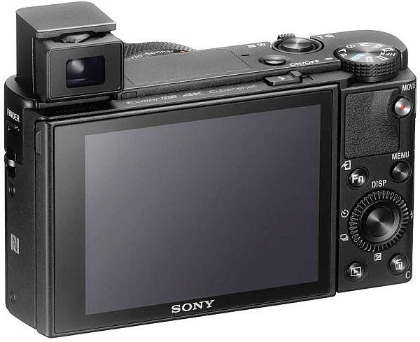 Sony RX100 VII display