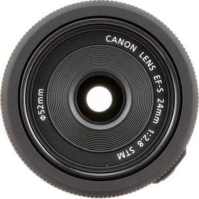 Canon EF-S 24mm f2.8 camera lens