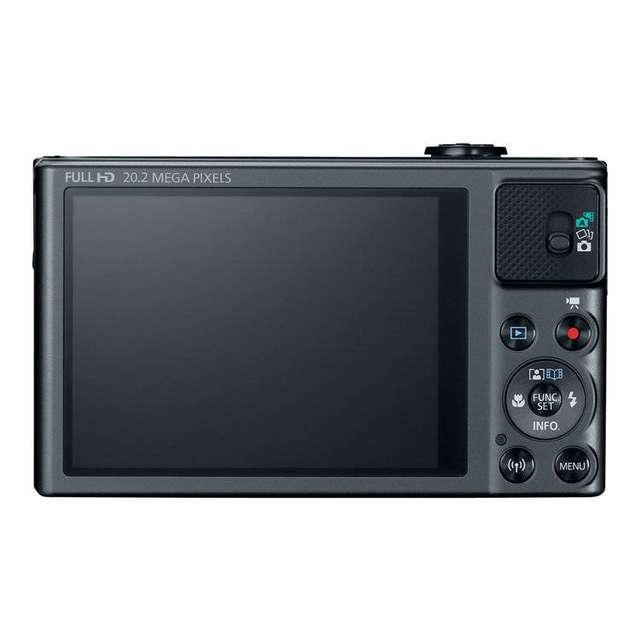 Canon PowerShot SX620 screen view