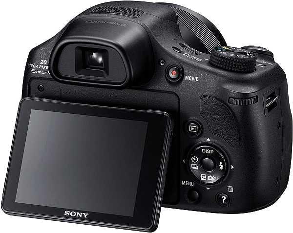 Sony Cyber-Shot DSC-HX350 display mobility