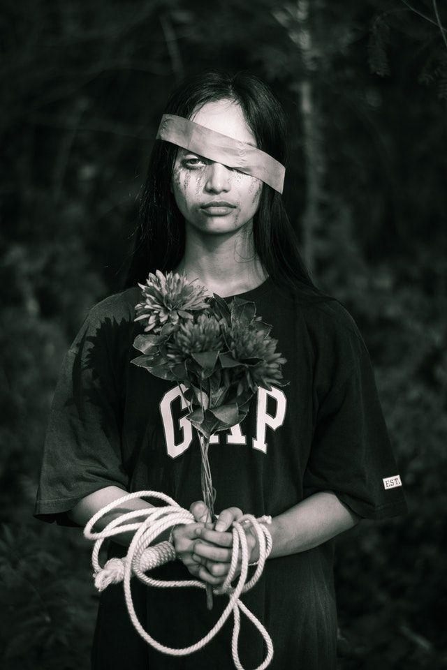 conceptual photography emotional pain
