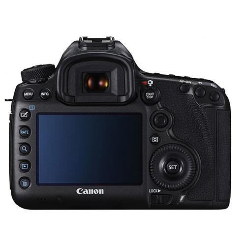 Canon EOS 5DS R screen
