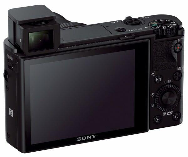 Sony RX100 III screen