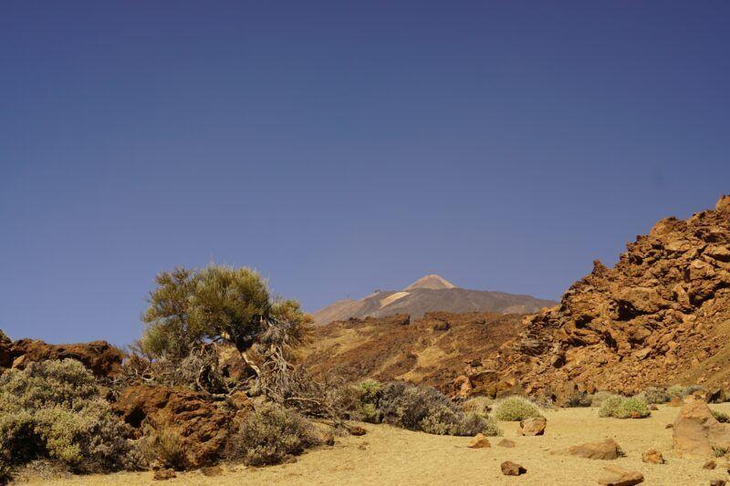 El Teide in Tenerife