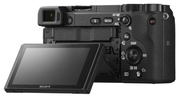 Sony A6400 screen