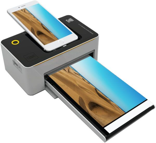 Kodak Dock and Wi-Fi Portable 4 x 6 Inch photo printer view