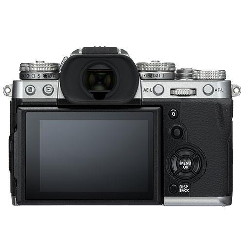 Fujifilm X-T3 screen view