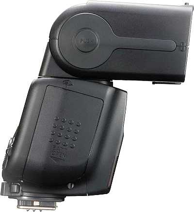 Canon Speedlite 430EX battery side view