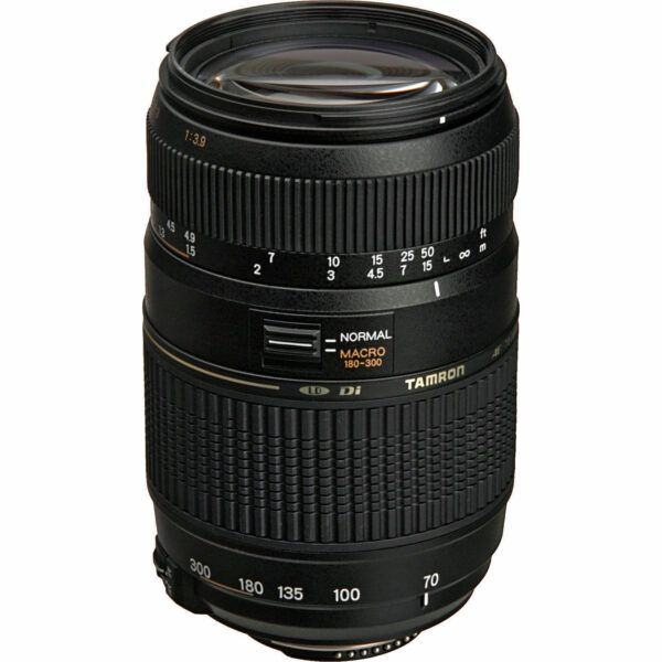 Tamron 70-300mm macro lens