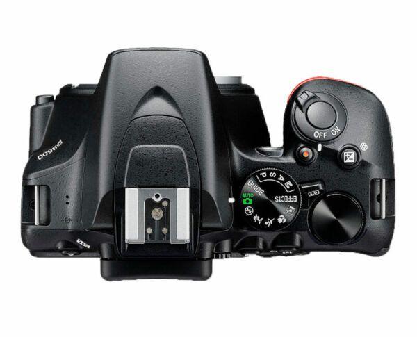 Nikon D3500 top view