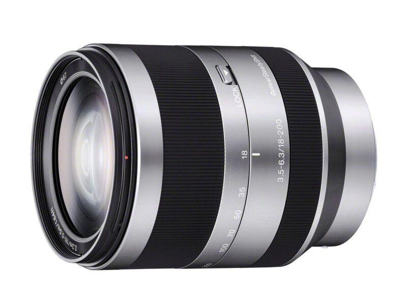 Sony SEL 18200 E 18-200mm F3.5-6.3