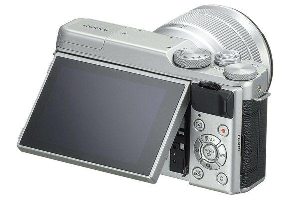 Fujifilm X-A10 back view