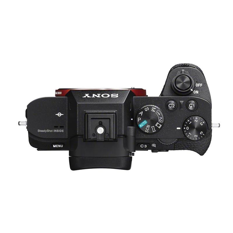 Sony a7II top view