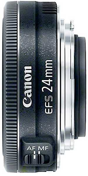 Canon EF-S 24 mm f2.8 camera lens