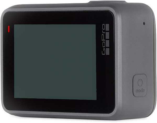 GoPro Hero 7 Silver display