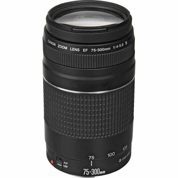 Canon EF 75-300mm f4-5.6 III product overview
