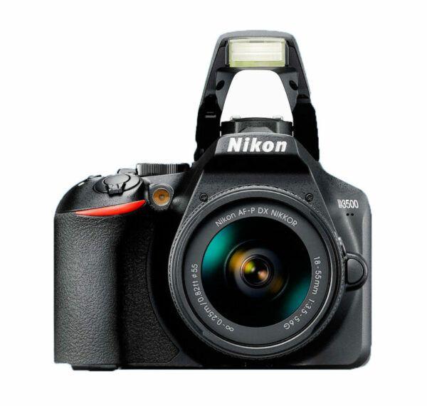 Nikon D3500 flash up