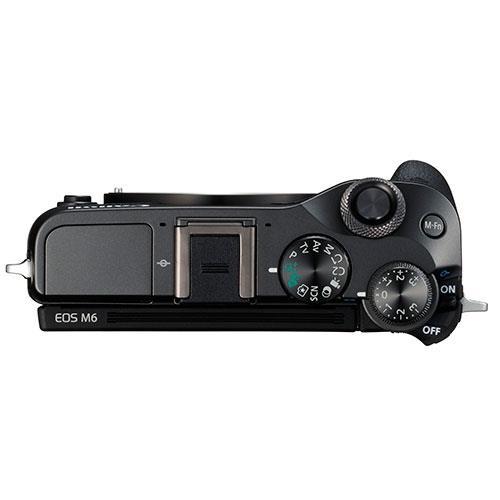 Canon EOS M6 top view